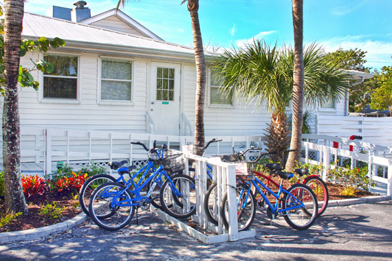 Bikes for Rent at Island Inn