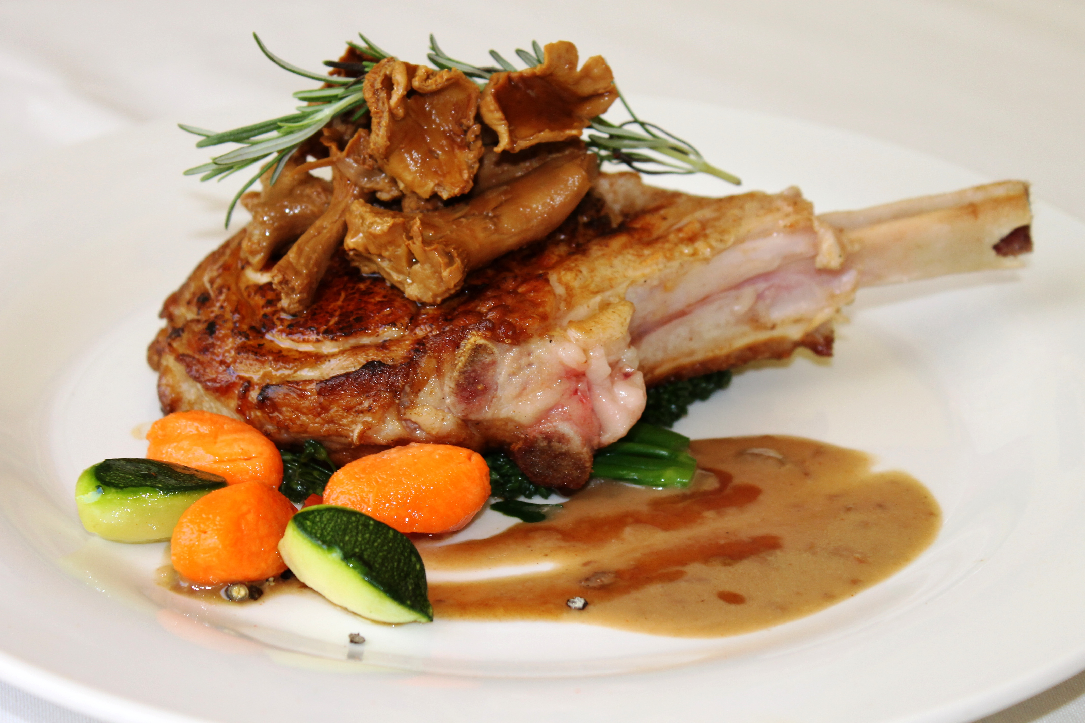 14oz Flame Grilled Veal Chop