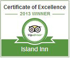 Trip Advisor Recommends Island Inn!