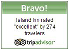 Rated Excellent by 274 Travelers and Counting!