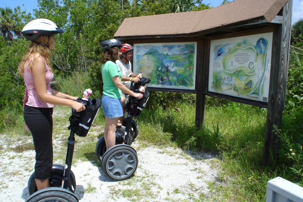 Segway Tours on Sanibel Island
