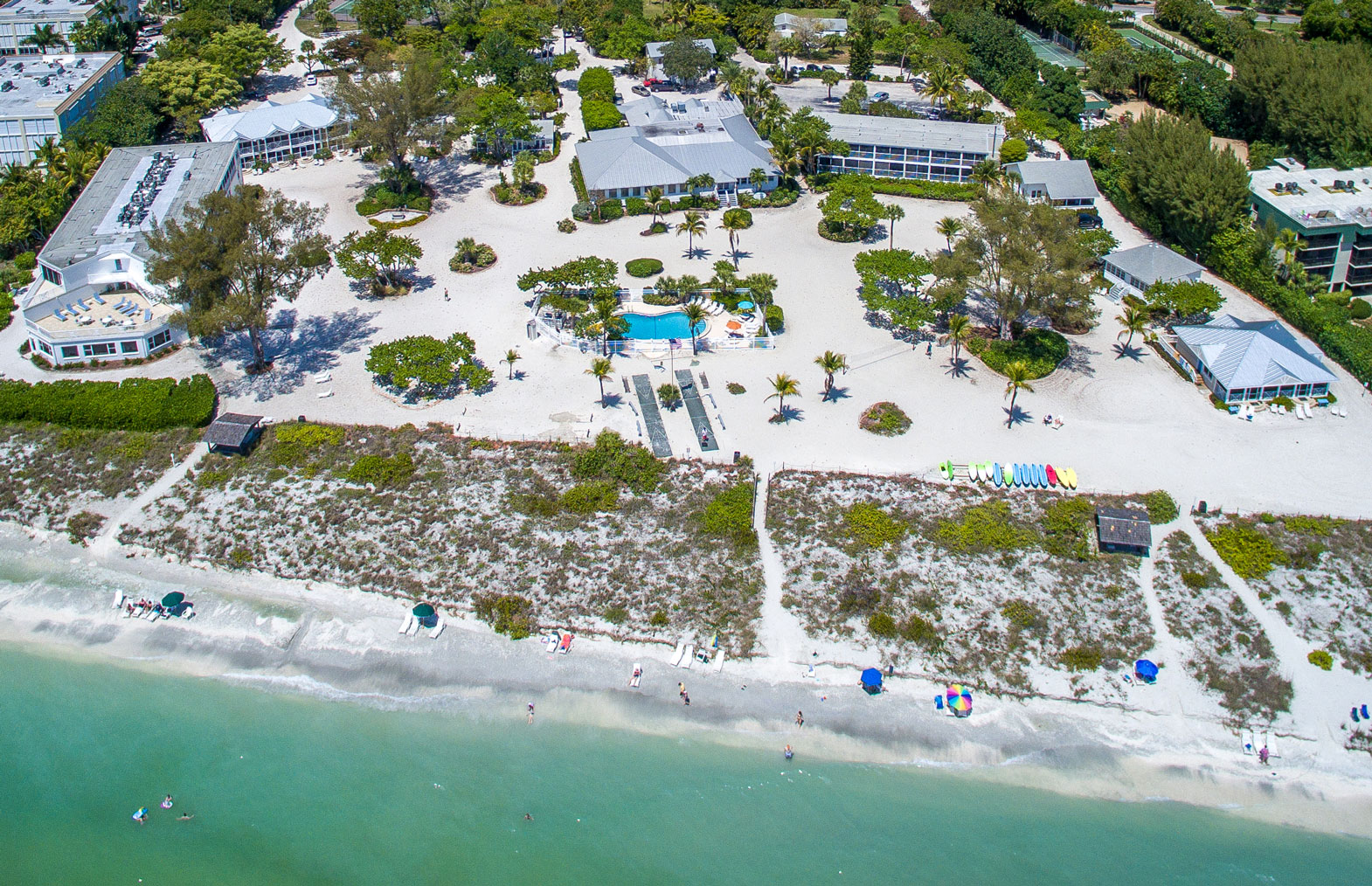 interactive grounds map  island inn sanibel -