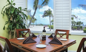 Island Inn Sanibel Dining Room Window View