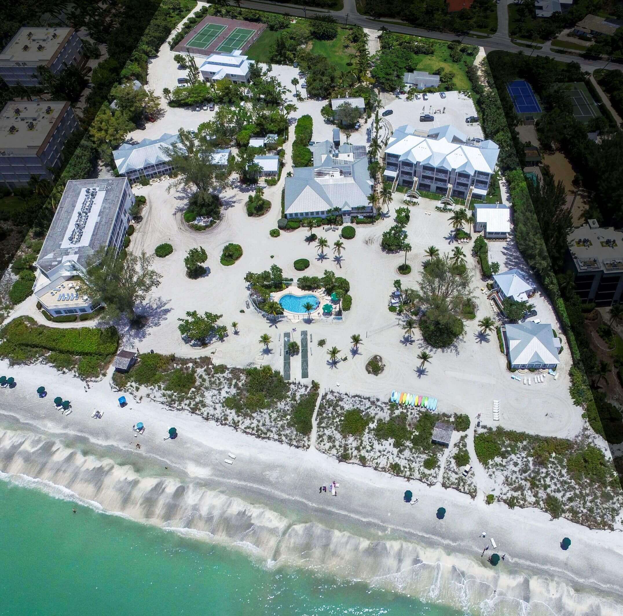 Sanibel Beach Florida Map.Interactive Grounds Map Island Inn Sanibel