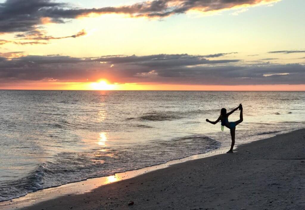 sanibel yoga on the beach