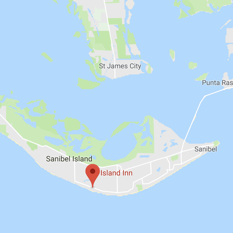 Island Inn Location on Sanibel Map - Island Inn Sanibel on south seas island resort map, st. augustine map, union park map, steinhatchee map, east coast of the united states map, wellington map, martinique on the gulf map, bowman's beach map, pratumnak map, villas by the sea map, chokoloskee map, alaqua lakes map, clewiston map, captiva map, fort myers map, florida map, st lucie map, ft. lauderdale map, buckingham map, ponce inlet map,